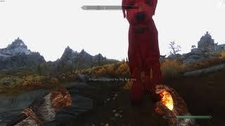 Elder Scrolls V  Skyrim - Big Red Dog (Mod request)