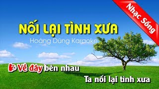 Nối Lại Tình Xưa Karaoke Nhạc Sống cha cha cha - Noi lai tinh xua karaoke song ca