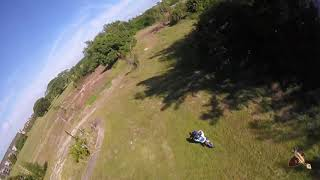 """5"""" Cockroach & Joes Chameleon & Dirt Bikes - FPV Drone Quadcopter Freestyle Chase"""