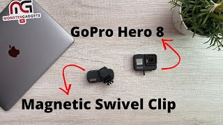 New GoPro Magnetic Swivel Clip - A Great GoPro Accessory!