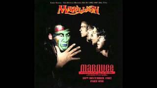 Marillion Live 82 -three boats down from the candy-