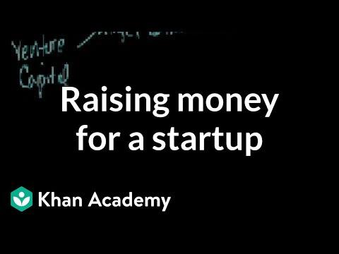 Raising money for a startup (video)   Khan Academy
