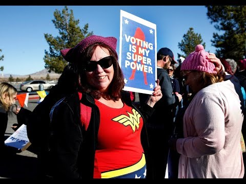Women's March focuses on voter registration at Las Vegas event