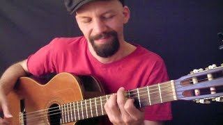 (Ol' 55) Tom Waits - acoustic fingerstyle cover by Daryl Shawn