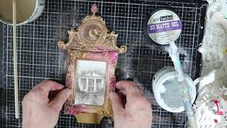 Mixed Media - Altered Art - The Old House