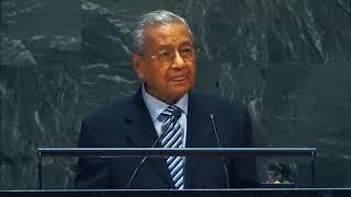 Tun Dr Mahathir Mohamad – Debat Umum Perhimpunan Agung PBB Ke-74