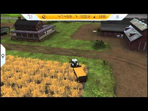 Farming Simulator 14 Vita Gameplay