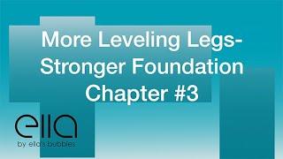 More Leveling Legs – Stronger Foundation