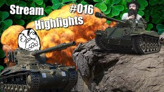 WoT || Stream Highlights #016 || Type 64 OP Pls Nerf!!!