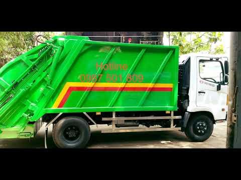 Xe ép và chở rác Tín Nhân Auto