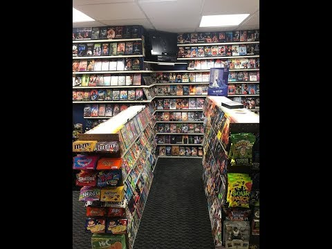 YouTuber Built A Video Store In Their Basement - Welcome To Nostalgia