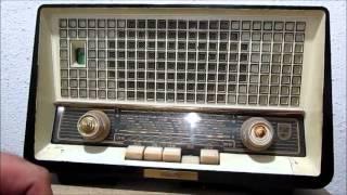 راديو فليبس قديم زئبق