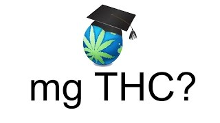 mg THC & How To Calculate It