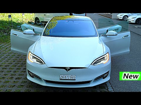 New Tesla Model S P100D RAVEN Review Interior Exterior