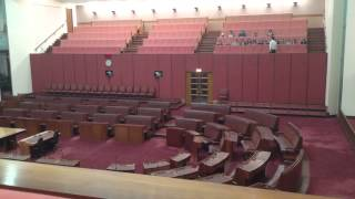 preview picture of video 'Parliament House, Canberra'