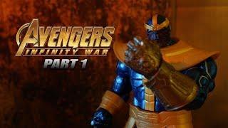 Avengers: INFINITY WAR Stop Motion Film [Part 1]