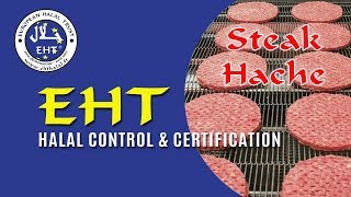 EHT Halal -Steak Hache Production