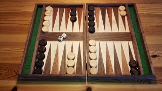 Backgammon-Spiel selbst  gebaut