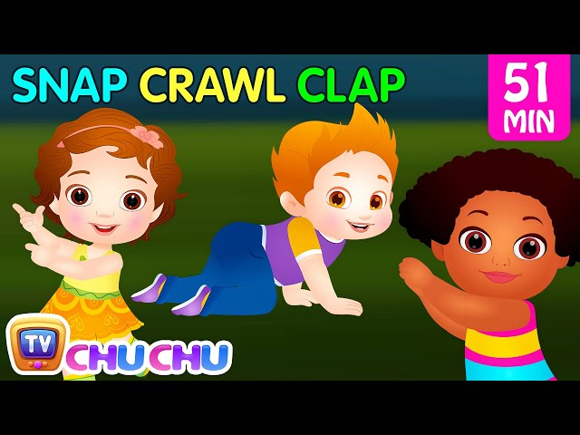 Snap Snap Actions Song | Original Educational Learning Songs & Nursery Rhymes for Kids | ChuChu TV