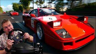 Укрощение Ferrari F40 - Gran Turismo Sport Online