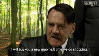 Hitler plans outdoors