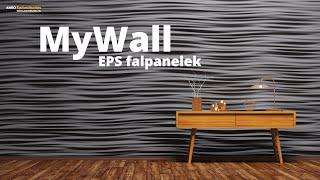 MyWall eps falburkoló lapok - 9 típus bemutatója