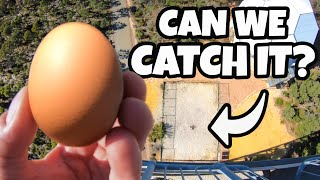 How High Can You Catch an Egg?