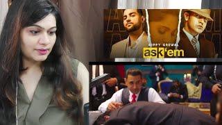 ASK THEM Song Reaction | Gippy Grewal Ft. Karan Aujla| Smile With Garima