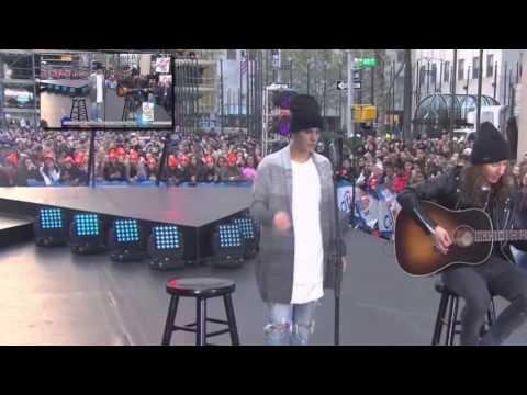 Justin Bieber/Company lyrics español letra show concert