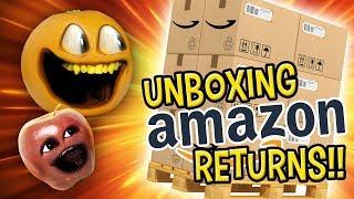 Annoying Orange   Amazon Return Pallet Challenge!