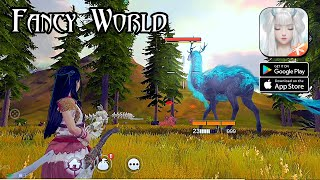 Fancy World (Tencent) - Open World Beta Gameplay (Android/IOS)
