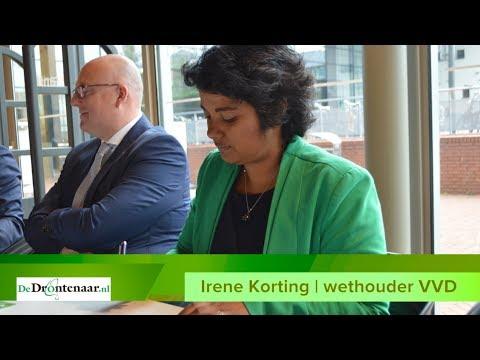 """VIDEO   VVD-wethouder Irene Korting stelt zich voor: """"Ik geloof echt in nieuwe politiek"""""""