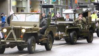 preview picture of video 'Aberdeen Armed Forces Day Parade 29th June 2014 2 of 2 HD'