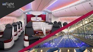 Qatar Airways Business Class & The World's Best Airport Hotel