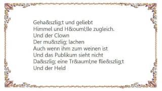Katja Ebstein - Theater Lyrics