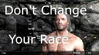 Don't Change Your Race