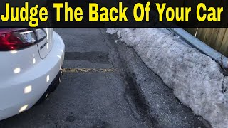 How To Judge The Back Of Your Car-Driving Lesson