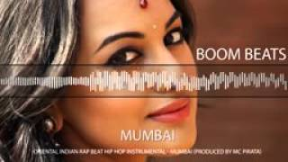 Oriental Indian Rap Beat Hip Hop Instrumental   Mumbai Produced by MC Pirata   YouTube