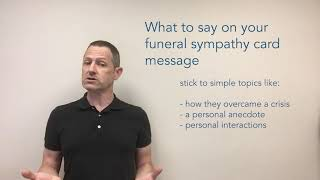 What to write on funeral flowers card