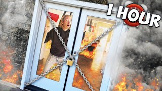 1hr to Escape the Burning House or...
