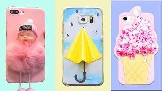 DIY Phone Case Life Hacks! 8 Phone DIY Projects & Popsocket Crafts!