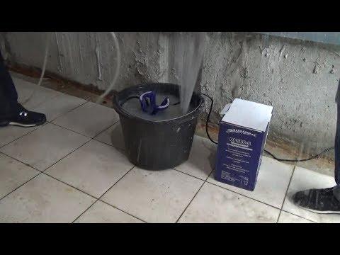 Откачать воду из подвала, погреба. Насос для откачивания воды