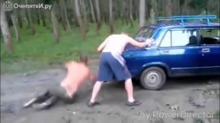 Приколы с машинами