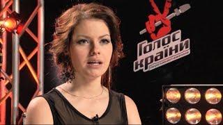 """Вікторія Брехар """"Blank Page"""" - Голос Країни - Вибір наосліп - Сезон 4"""