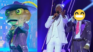 The Masked Singer  - The Frog Performances and Reveal 🐸