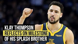 Klay Thompson wouldn't mind being second on all-time 3-point list