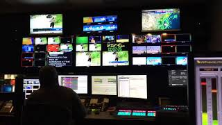 DAYTIME AT NINE: Behind the Scenes | KGBT TV CBS 4 News RGV Control Room | TV Host Danielle Banda