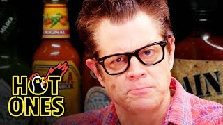 Hot Ones - Johnny Knoxville Gets Smoked By Spicy Wings