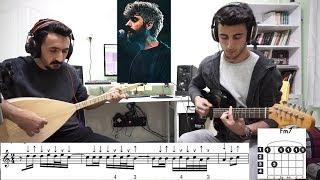 Manuş Baba - Eteği Belinde Bağlama Solfej, Gitar Akorları Ve Şarkı Sözleri + Cover