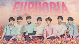 [1 시간  1 HOUR LOOP] BTS   Euphoria KOR ENG ROM Lyrics